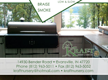 trade show printing for grill company