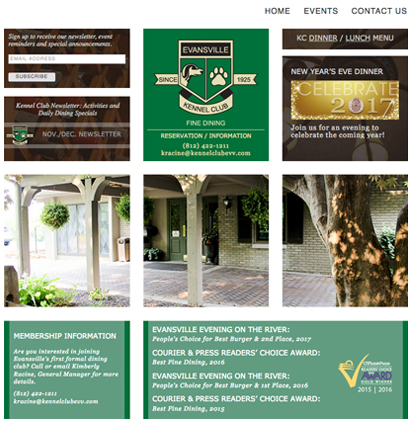 Evansville Website Design Evansville IN